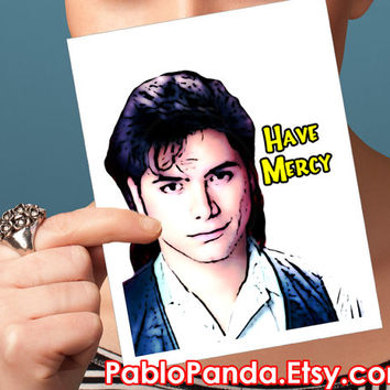 Uncle Jesse Valentine Card - Full house card for boyfriend funny valentine card I love you card love card funny valentine for him valentine