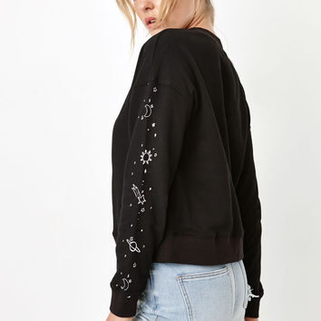 Honey Punch Galaxy Pullover Sweatshirt at PacSun.com