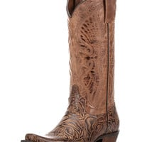 Women's Angelica Boot - Distressed Cognac