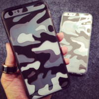 Fashion camouflage color Case Cover for Apple iPhone 7 7 Plus 5s 5 SE 6 6S 6 Plus 6S Plus 16090604002