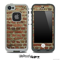 Brick Wall Skin for the iPhone 5 or 4/4s LifeProof Case