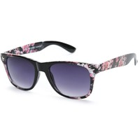 Classic Crush It Floral Sunglasses