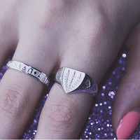 Panhellenic Shield Ring