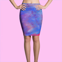 Enchanted Pencil Tumblr Pastel Goth Skirt by The Wild Willows