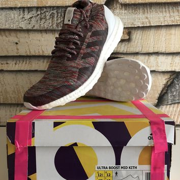 """KITH x adidas Ultra Boost Mid """"Aspen"""" (BY2592) US 12.5 / EU 47 1/3 / UK12 (DS)"""