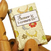 Sumer Is I-Comen In, Bo Press Miniature Book