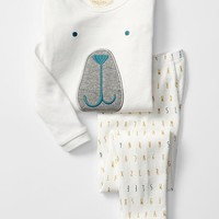 Gap Baby Organic Bear Sleep Set