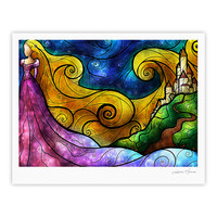 "Mandie Manzano ""Starry Lights"" Fine Art Gallery Print"
