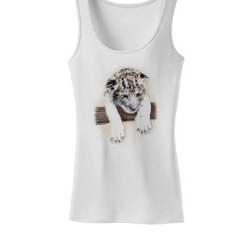 Leopard Cub Womens Tank Top