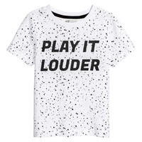 H&M T-shirt with Printed Design $4.99