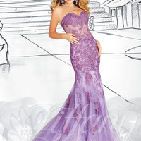 Strapless Sweetheart Formal Prom Dress Tiffany Designs 16020