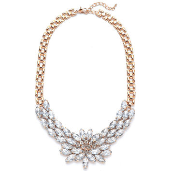 Crystal Burst Necklace