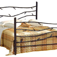 Wrought Iron Woodland Bed