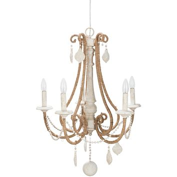 Surya Ambrose 5-Light Chandelier