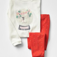 Gap Snow Globe Sleep Set
