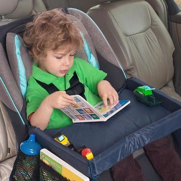 Kids Car Seat Travel Play Tray