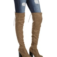 Taupe Fox Trot Boots