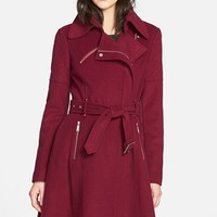 Women's BCBGeneration Asymmetrical Zip Trench Coat ,