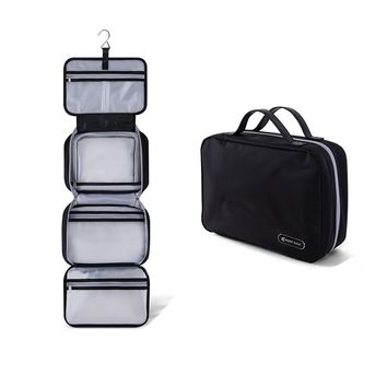 "Premium Hanging Toiletry Bag Travel Kit for Men and Women | XL (34""x11"") 