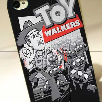 Toy Walkers - for iPhone 4/4S case iPhone 5 case Samsung Galaxy S2/S3/S4 Case hard case