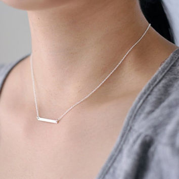 Cute Solid Color Women's Pendant Necklace