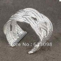 Women's Fashion Ring Silver Ring 925 Plated Gorgeous Accessory