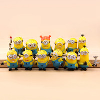 Despicable Me 2 Movie Character Minions Doll Toy Cute Figures