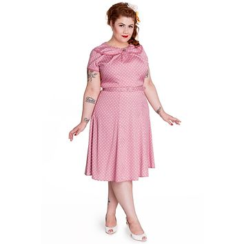 Hell Bunny 50's Retro Mod Sassy Polka Dot Sunday Dress