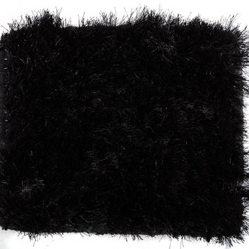 Vgld-Mantova-Blk-Sm Modrest Mantova By Linie Design Modern Black Small Area Rug
