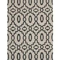 Safavieh Safavieh Hand-woven Moroccan Dhurrie Ivory Wool Rug (4 x 6 ) from Overstock.com | BHG.com Shop
