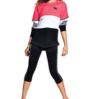 Ultimate Yoga Crop Legging - PINK - Victoria's Secret