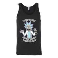 Rick And Morty - It's time to get riggity riggity wrecked son - Unisex Tank Top T Shirt - TL01156TT
