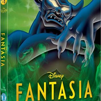 Fantasia [Blu-ray] Disney Villains O-Ring Slipcover Edition UK Import (Region B) Disney Classics #3