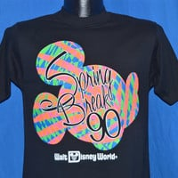 90s Walt Disney World Spring Break '90 Mickey Mouse t-shirt Small