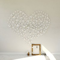Mariposa Appear in Gossip Girl 12pcs/pack 3D Decorative Butterflies Removable Wall Art Stickers Wedding Decor - by Gefii (! ! White)