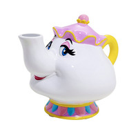 Disney Beauty And The Beast Mrs. Potts Ceramic Coin Bank