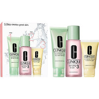 Clinique 3-Step Introduction Kit For Oiler Skin (Type 3)
