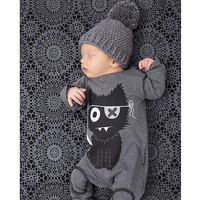 2017 fashion baby boy clothes long sleeve rompers newborn cotton jumpsuit