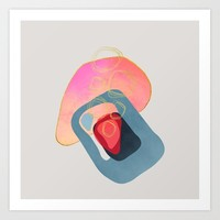 Modern minimal forms 44 Art Print by naturalcolors