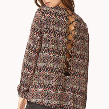 Day Tripper Cutout Top
