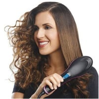 Hot Combs Electric Fast Hair Straightener Comb Massager Tool Electric Straightening Comb