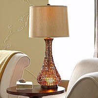 JCPenney : Artesia Amber Mosaic Table Lamp