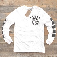 Goons Jersey 2.0 L/S Tee White