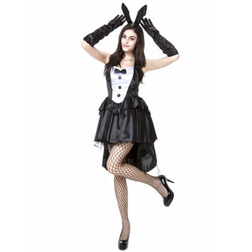 y play boy bunny rabbit Halloween costumes plus size cosplay costumes medieval dresses disfraces adultos fancy dress maid Alternative Measures - Brides & Bridesmaids - Wedding, Bridal, Prom, Formal Gown