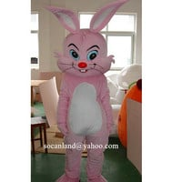 Easter/Christmas Bunny Mascot Costume,Cosplay Costume,Adult Costume,Party Costume,Halloween Costume,Easter Costume,Rabbit Cosplay,Clothing
