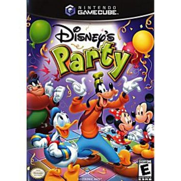 Disney Party Gamecube Game