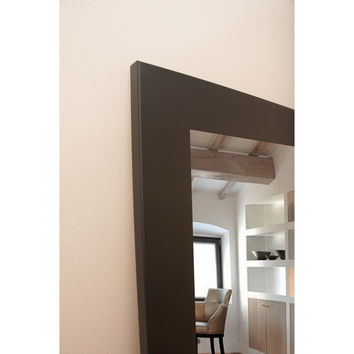 Brandt Works Matte Black Tri-Fold 3 Way Dressing Mirror