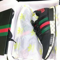 shosouvenir : GUCCI NMD Fashion Women/Men Casual Running Sport Shoes
