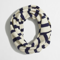 Factory stripe infinity scarf : Cold Weather | J.Crew Factory