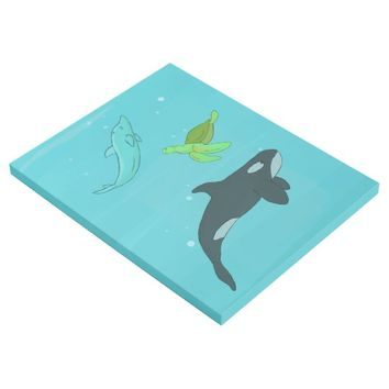 Sea Animals Gallery Wrap